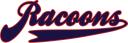 Racoons Schriftzug